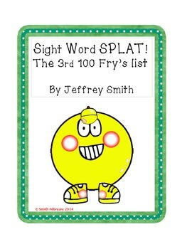 Sight Word SLPAT! The 3rd 100 Fry's Words