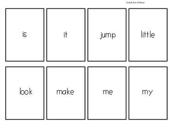 Sight Word SQUASH Game! {Dolch Words}