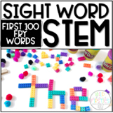 Sight Word STEM ~ First 100 Fry Words