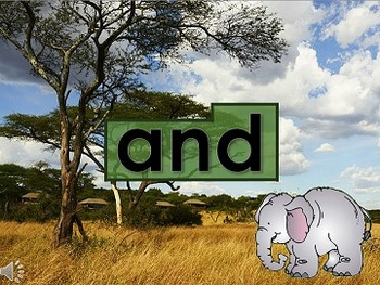 Sight Word Safari