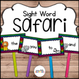 Sight Word Safari