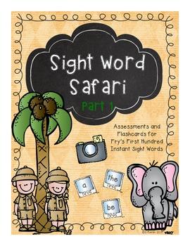 Sight Word Safari Part 1