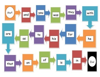 Sight Word Sample Games