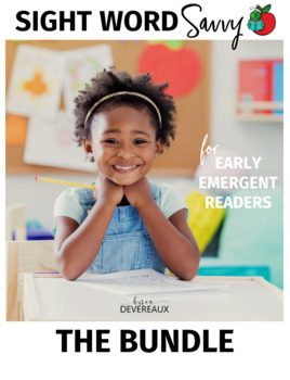 Sight Word Savvy Reading BUNDLE for Emergent Readers