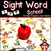 "Sight Word Activities ""Sight Word School"" - 100 Sight Word"