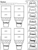 Sight Word Scoops (Fry's 3rd 100 Sight Words)