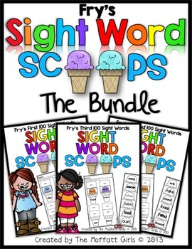 Sight Word Scoops (Fry's First 300 Sight Words)
