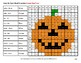Sight Word Scramble - Halloween Mystery Pictures - 5th 100 Fry Words