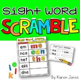 Sight Words Scramble {Magnetic Letter Center}