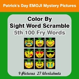Sight Word Scramble - St. Patrick's Day Mystery Pictures -