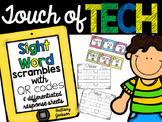 Sight Word Scrambles with QR codes