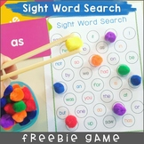 Sight Word Search Free