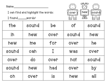 Fry Words Search & Highlight Set 2