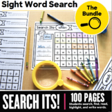 Sight Word Search Its! Bundle - Sight Word Search Sheets