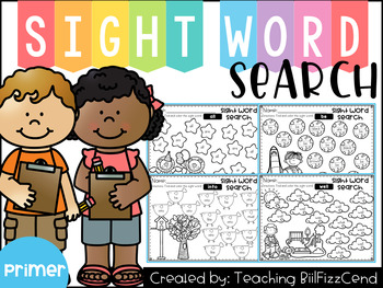 Sight Word Search (Primer)