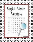 Sight Word Search Puzzle Packet