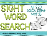 Sight Word Search Puzzles No Prep Printables