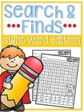 Sight Word Search and Find