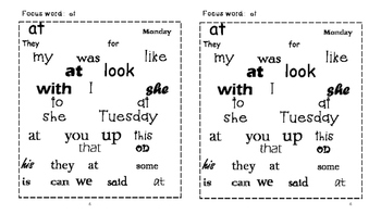 Sight Word Search and Find #3