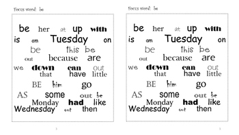 Sight Word Search and Find #4