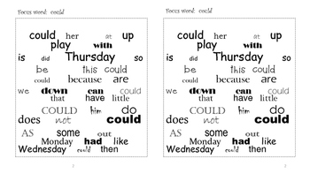 Sight Word Search and Find #5