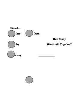Sight Word Search - her from by away