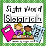 Sight Word Search part 2