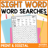 Sight Words Worksheets {Word Searches}