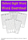 Sight Word Searches! Oxford Sight words 1-100