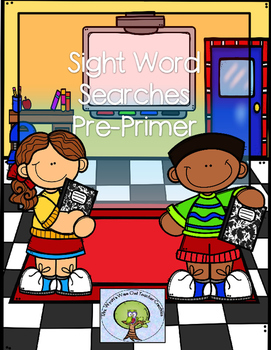 Sight Word Searches Pre-Primer Words