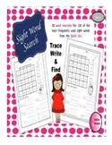 Sight Word Searches Set 1 Sample