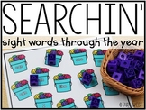 Sight Word Searchin' Through the Year