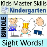 Sight Words Seasonal Bundle  - Hands-On Activities (100 Si