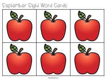Sight Word Seasonal Magic