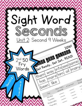 Sight Word Second - Unit 2