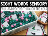 Sight Word Sensory Centers Through the Year