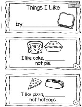 Sight Word Sentence Booklets {Compatible With Kindergarten Journeys}