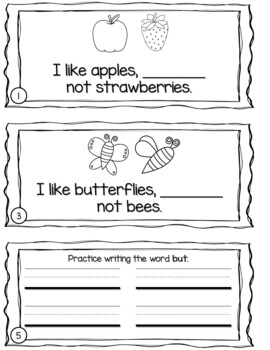 Sight Word Sentence Booklets {For Use With Kindergarten Journeys}