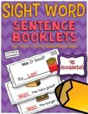 Sight Word Sentence Booklets {Pre-Primer and Primer Editio