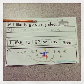 Sentence Building Sight Word Activities for the Year {The BUNDLE}