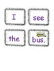 Sight Word Sentence Building Cards! Picture Clues