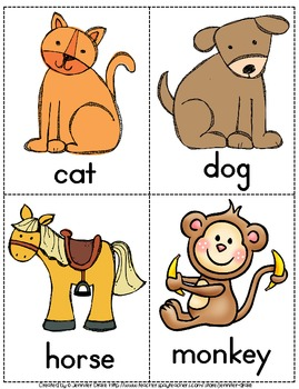 Sight Word Sentence Building Word & Picture Cards ~PLUS Game & Activity!
