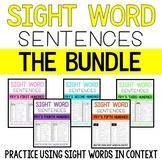Sight Word Sentence BUNDLE