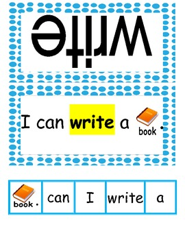 Sight Word Sentence Cards- Fry Words 51-75: Common Core Aligned