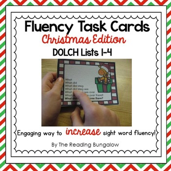 Sight Word Fluency Sentences {Christmas Edition}
