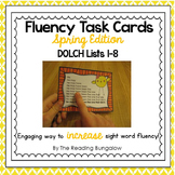 Sight Word Fluency Sentence Task Cards {Spring Edition}