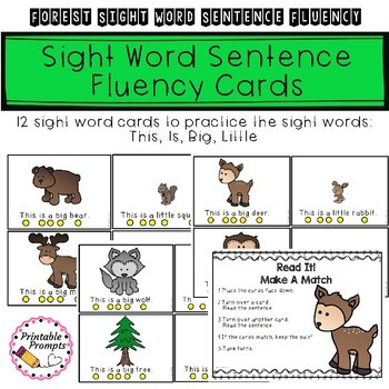 Sight Word Sentence- Forest