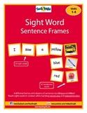 Sight Word Sentence Frames Units 1-4