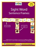 Sight Word Sentence Frames Units 14-16