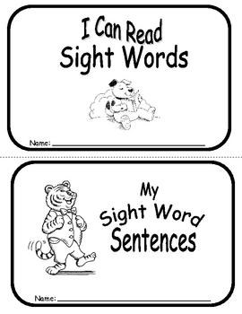 Sight Word Sentence Frames Units 18-20